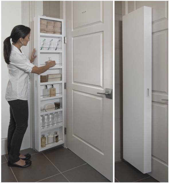 Le Meilleur The Cabidor Uses The Extra Space Behind Any Standard Door Ce Mois Ci