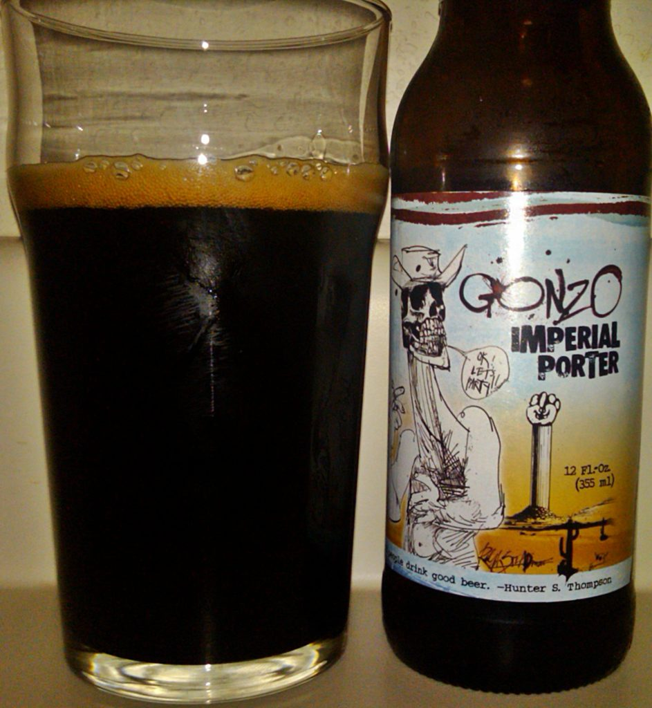 Le Meilleur Review Flying Dog Gonzo Imperial Porter Guys Drinking Beer Ce Mois Ci