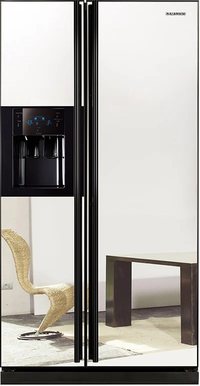Le Meilleur Samsung Refrigerator With Mirror Doors Side By Side Ce Mois Ci