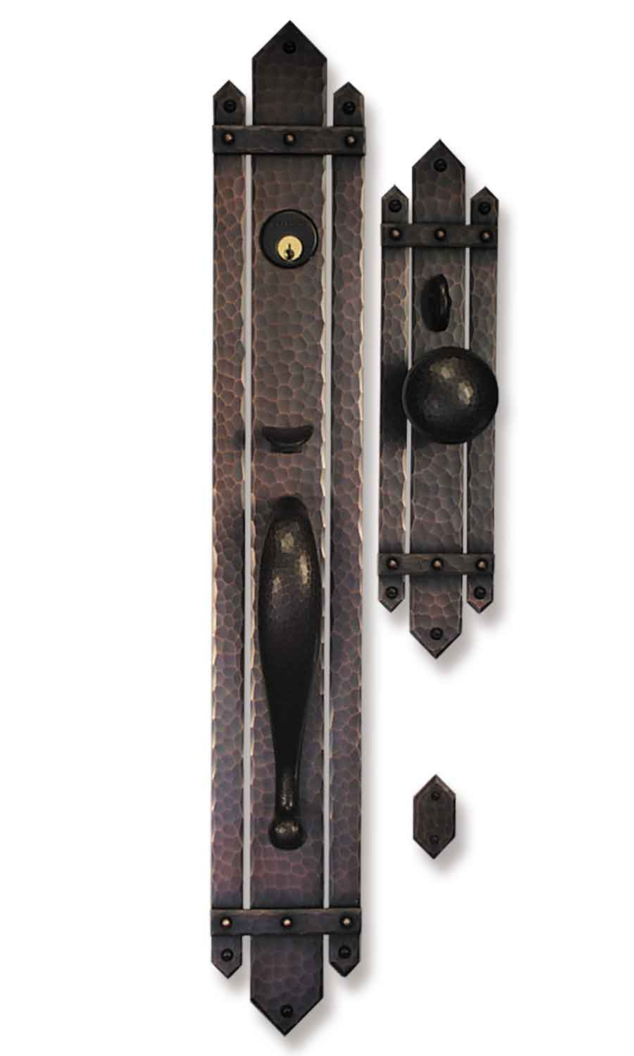 Le Meilleur Hand Crafted Arts And Crafts Craftsman Style Hardware Ce Mois Ci