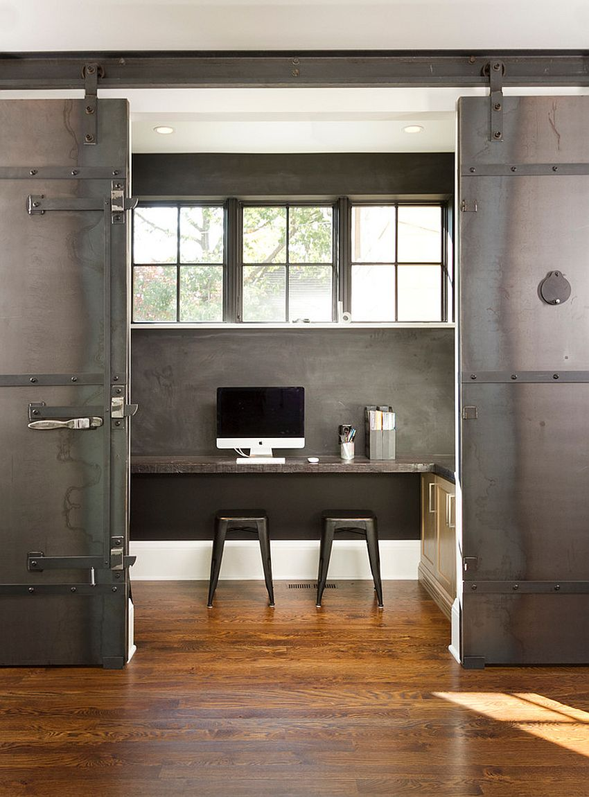 Le Meilleur 20 Home Offices With Sliding Barn Doors Ce Mois Ci