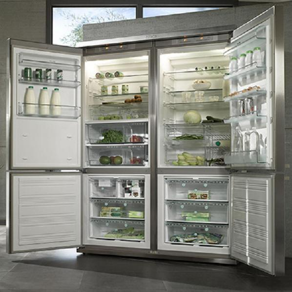 Le Meilleur Miele Grand Froid 4 Door Refrigerator Is A Rich Foodie's Ce Mois Ci
