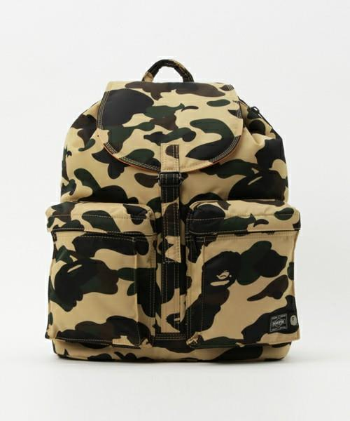 Le Meilleur A Bathing Ape Porter 1St Camo Backpack Day Pack Rucksack M Ce Mois Ci