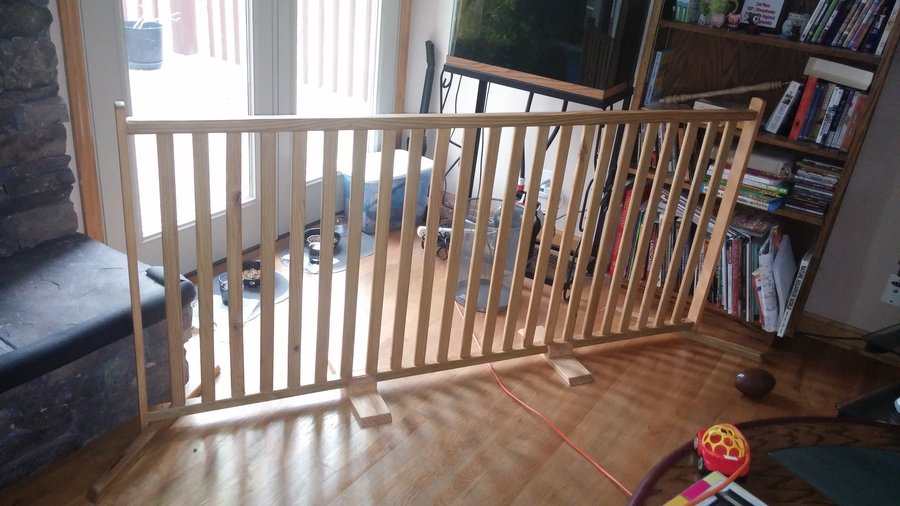 Le Meilleur Free Standing Baby Gate Barrier By 1911Kevin Ce Mois Ci