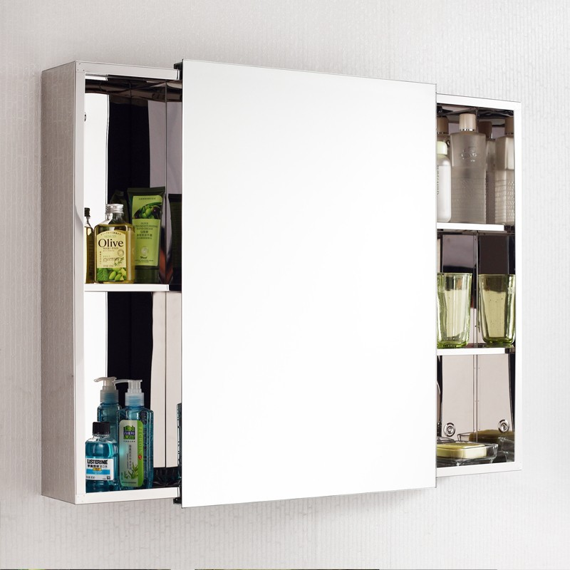 Le Meilleur Small Waterproof Sliding Door Bathroom Vanity Mirror Ce Mois Ci