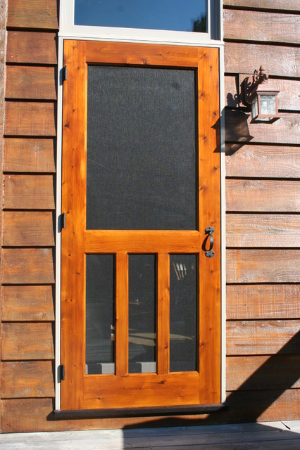 Le Meilleur Wood Screen Door Traditional Screen Doors Ce Mois Ci