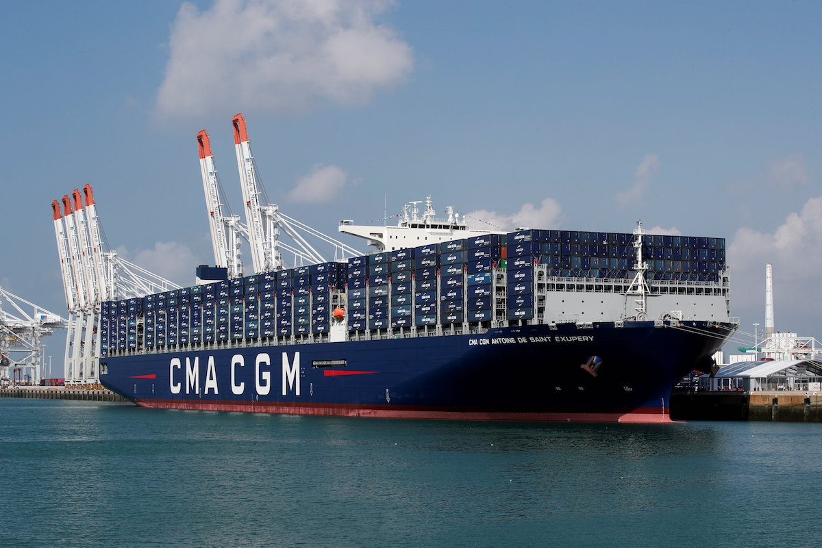 Le Meilleur Cma Cgm Takes Delivery Of France S Biggest Ship The Ce Mois Ci