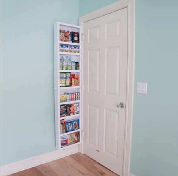 Le Meilleur Behind The Door Storage So Clever For The Home Pinterest Ce Mois Ci