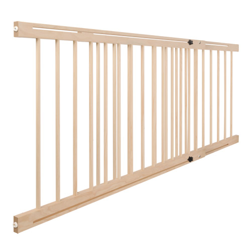 Le Meilleur Baby Adjustable Safety Gate Barrier Natural Wood Buy Ce Mois Ci