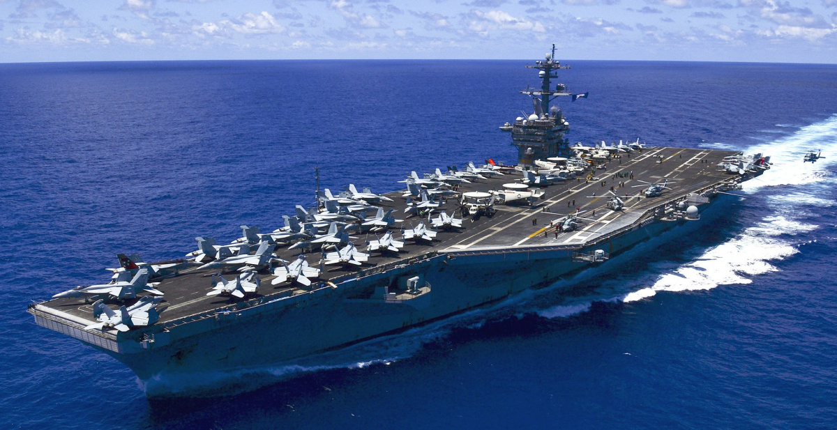 Le Meilleur China On Edge As U S Aircraft Carrier Exercises In South Ce Mois Ci
