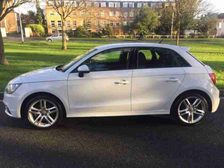 Le Meilleur Audi A1 Tfsi 2014 S Line 5 Door Hatch In Gleaming White Ce Mois Ci