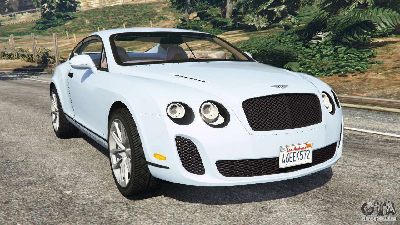 Le Meilleur Bentley Continental Supersports Beta For Gta 5 Ce Mois Ci