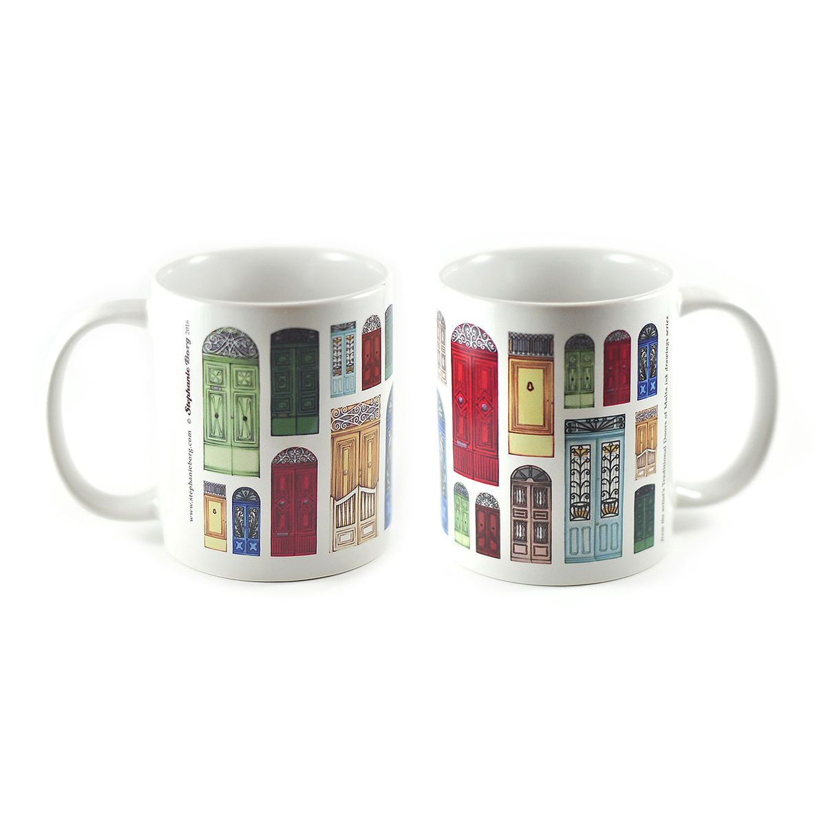 Le Meilleur Mug With Maltese Door Drawings Stephanie Borg Ce Mois Ci