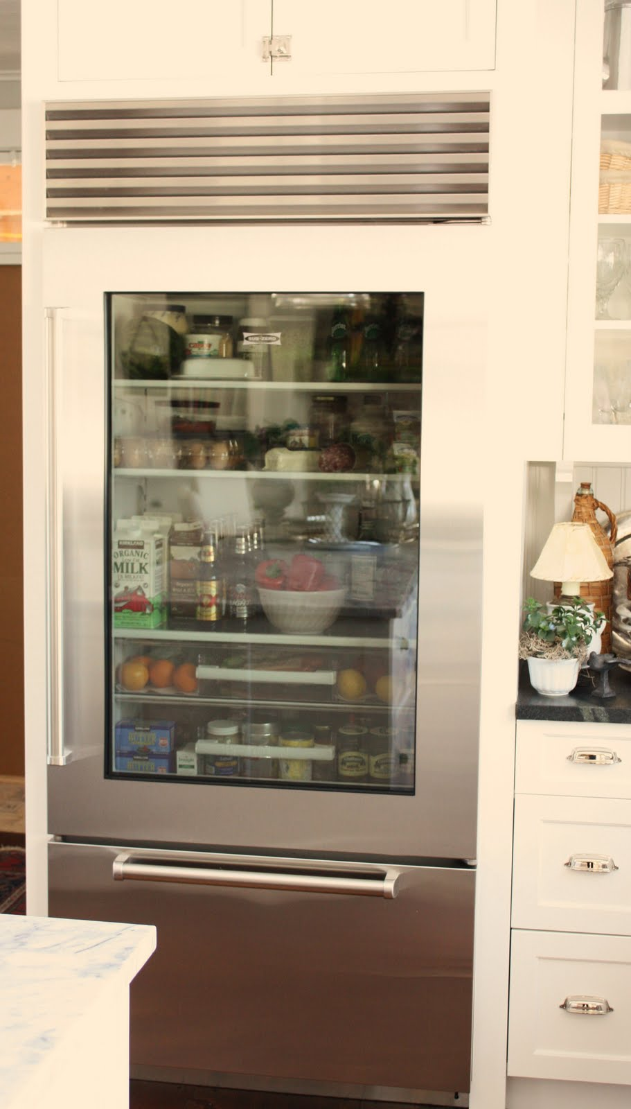 Le Meilleur For The Love Of A House The Glass Door Refrigerator Ce Mois Ci