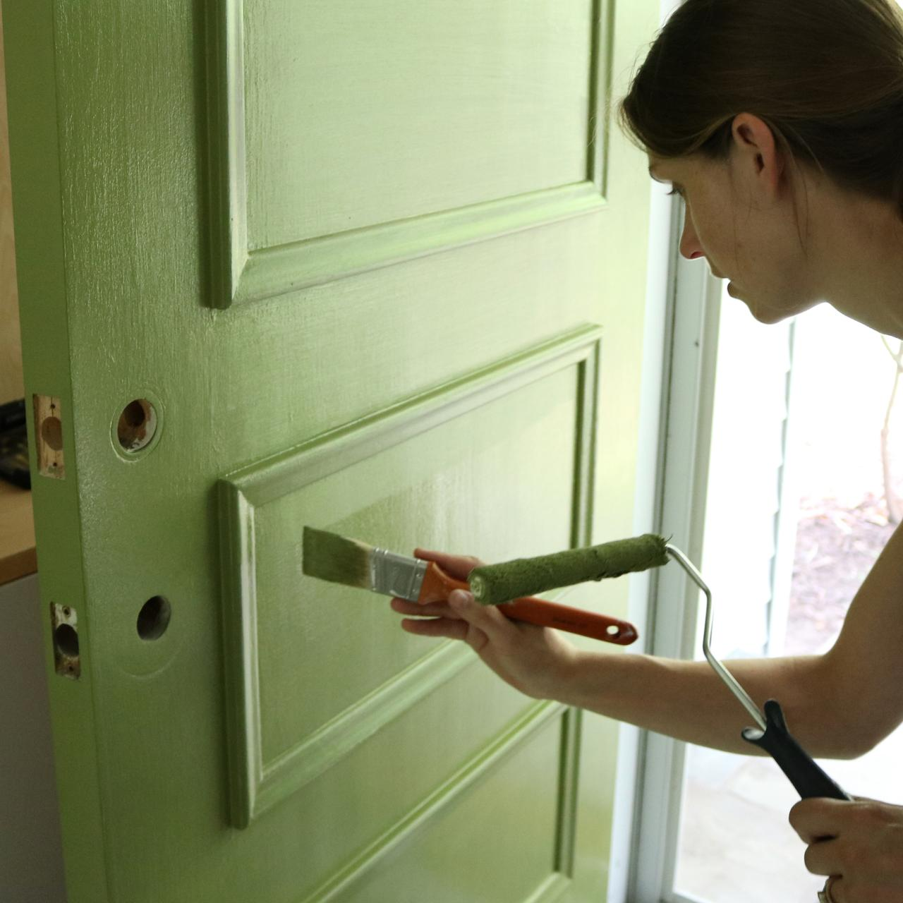 Le Meilleur Learn How To Paint Your Front Door How Tos Diy Ce Mois Ci