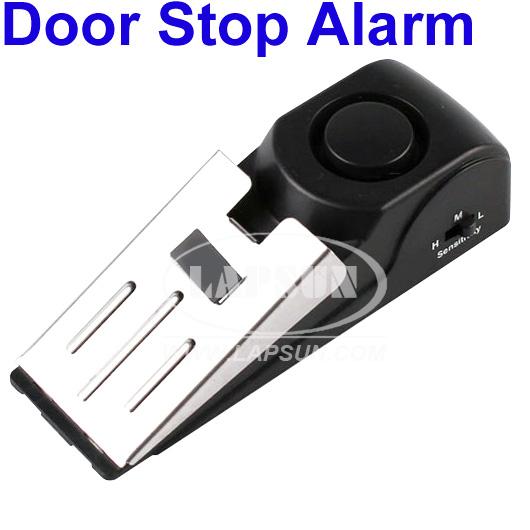 Le Meilleur Safety Wedge Security Door Stop Easy Alarm Device 125Db Ce Mois Ci