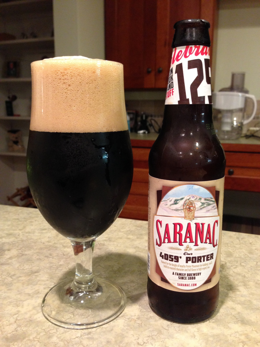 Le Meilleur Saranac 4059 Porter Beer Of The Day Beer Infinity Ce Mois Ci