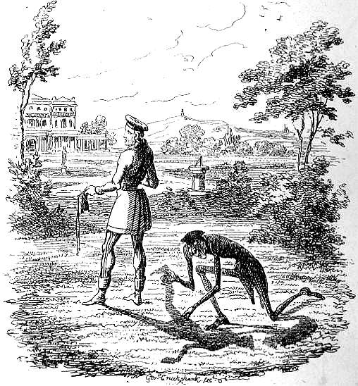 Le Meilleur I Perceived Him Loosening My Shadow By George Cruikshank Ce Mois Ci