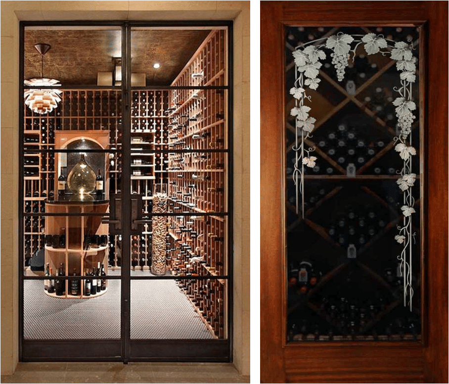 Le Meilleur Quality Wine Cellar Door For Wine Safety Low Energy Bills Ce Mois Ci