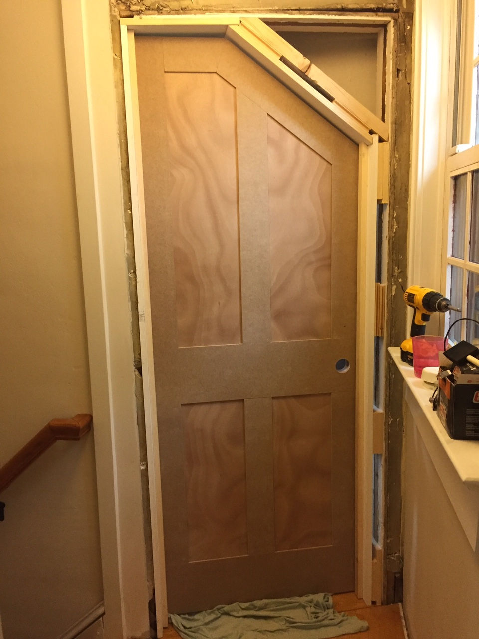 Le Meilleur Diy How To Build An Angled Door One Room Challenge Ce Mois Ci