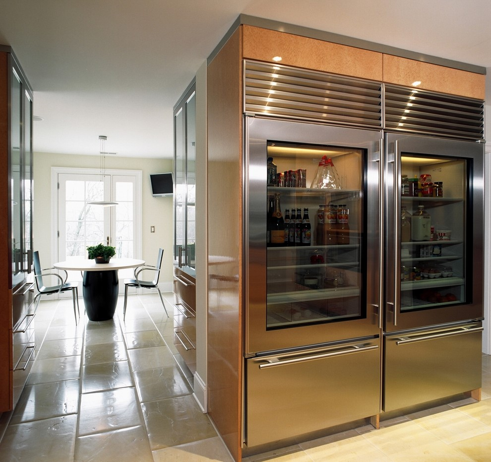 Le Meilleur Have A Glass Front Refrigerator Residential In Your Home Ce Mois Ci