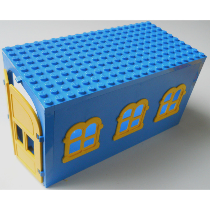 Le Meilleur Lego Fabuland Garage Block With Yellow Windows And Yellow Ce Mois Ci