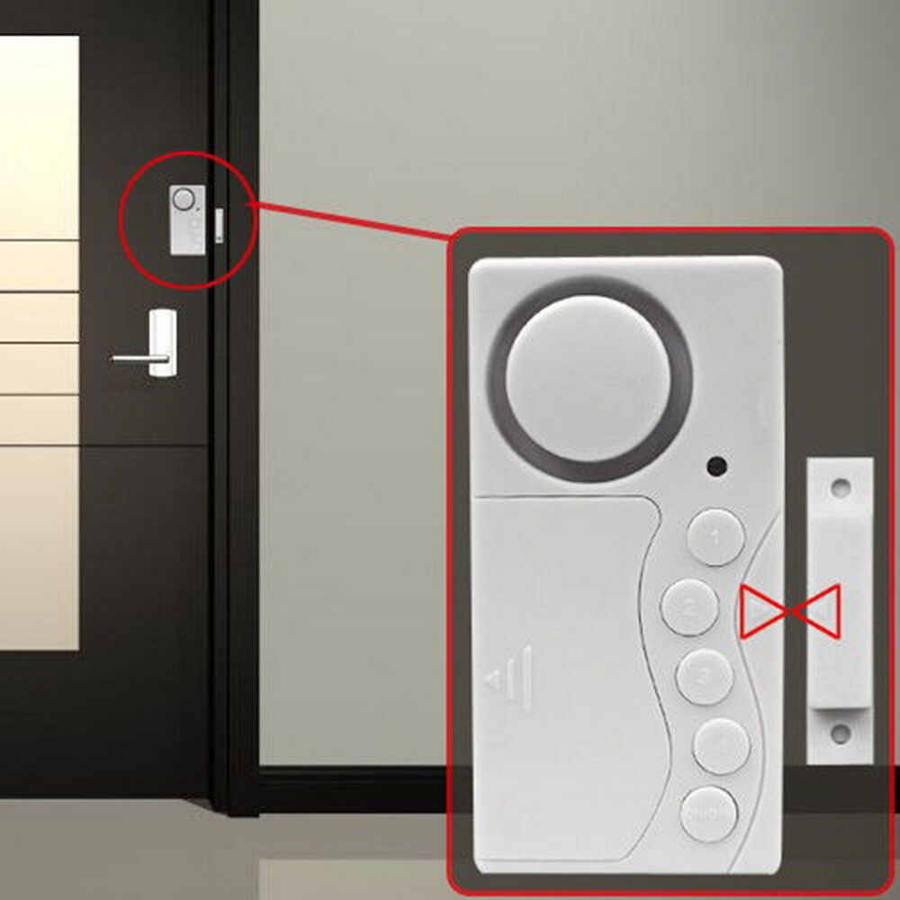 Le Meilleur Magnetic Sensor Wireless Door Window Home Security Entry Ce Mois Ci