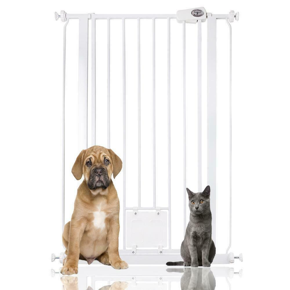Le Meilleur Bettacare Dog Gate With Lockable Cat Flap Premium Pet Ce Mois Ci