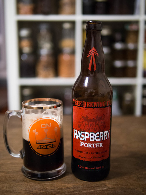 Le Meilleur Craft Beer Week Raspberry Porter By Tree Brewing Company Ce Mois Ci