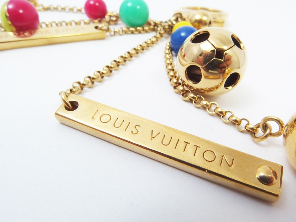 Le Meilleur Authentic Louis Vuitton Key Ring Chain Porte Cle Chaine Ce Mois Ci