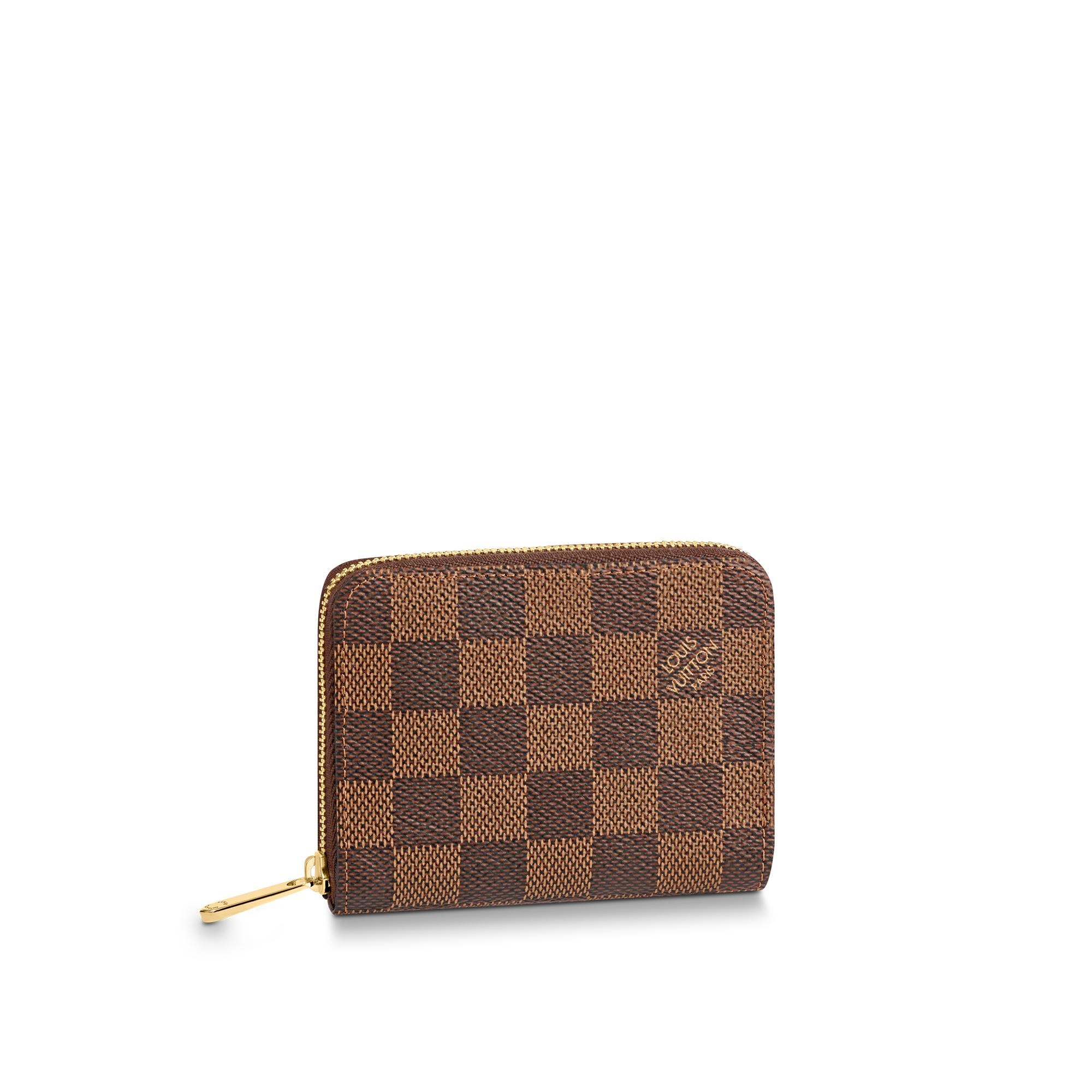 Le Meilleur Zippy Coin Purse Damier Ebene Canvas Small Leather Goods Ce Mois Ci