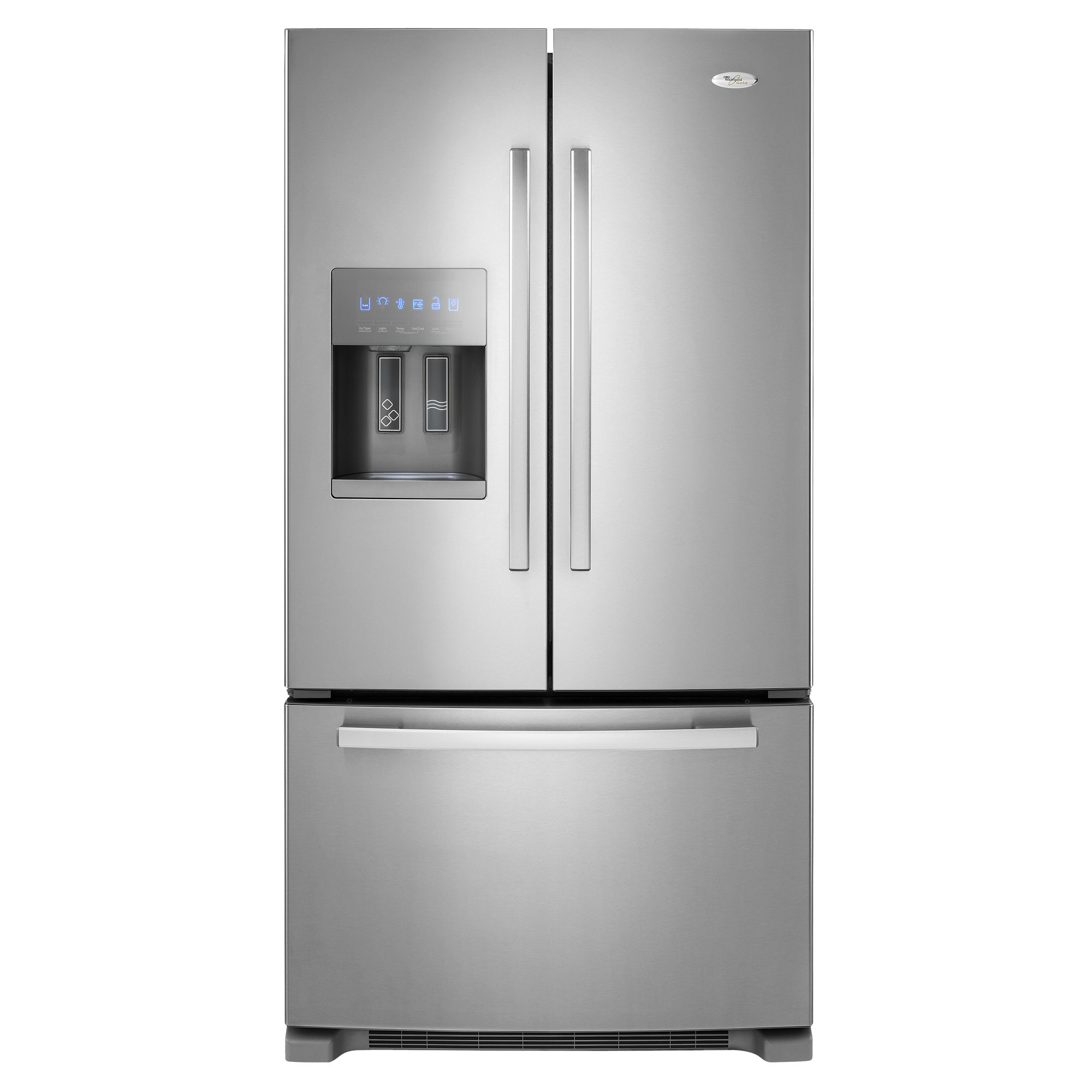 Le Meilleur Whirlpool Gold 25 5 Cu Ft French Door Bottom Freezer Ce Mois Ci