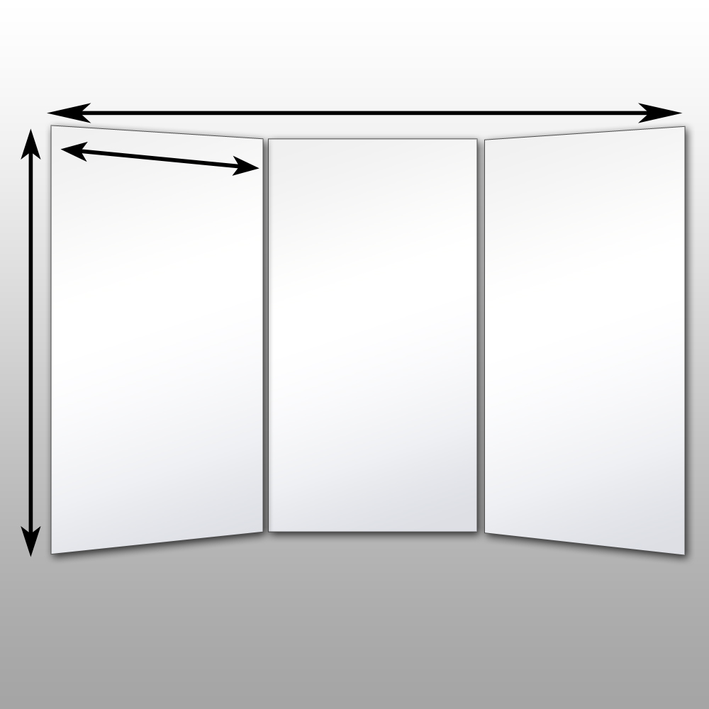 Le Meilleur Folding Glassless Mirrors Free Standing Glassless Mirrors Ce Mois Ci