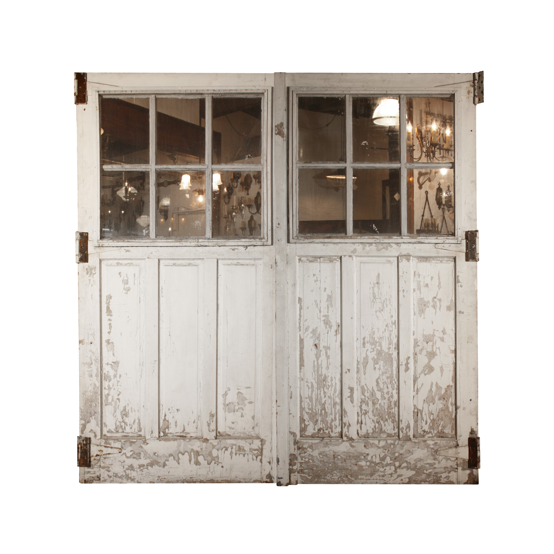 Le Meilleur Handsome Pair Of Reclaimed Carriage Doors Ned243 Rw For Ce Mois Ci