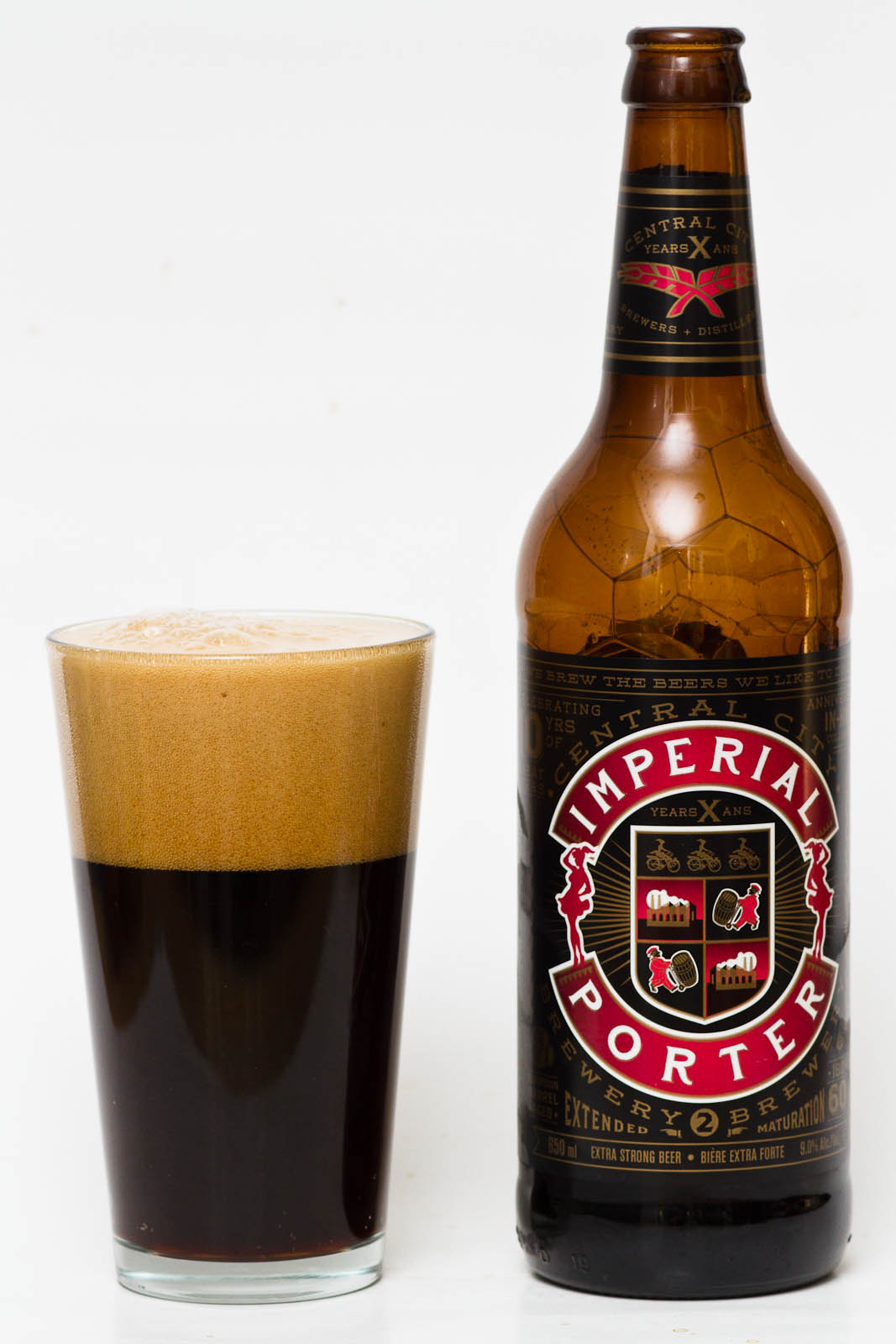 Le Meilleur Central City Brewery – 10Th Anniversary Imperial Porter Ce Mois Ci