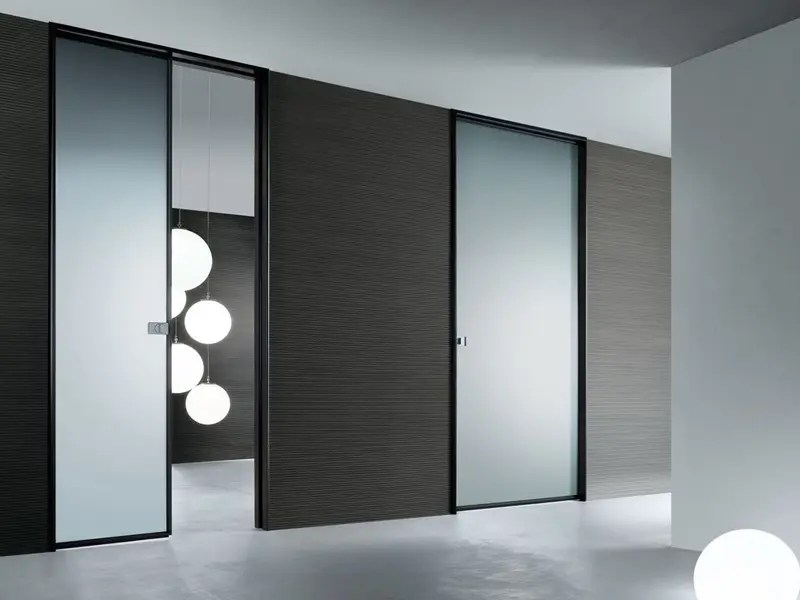 Le Meilleur Modern Interior Glass Doors – Spin By Rimadesio Digsdigs Ce Mois Ci