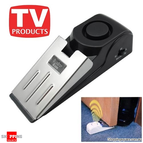 Le Meilleur Safety Wedge And Security Door Stop Easy Alarm For Travel Ce Mois Ci