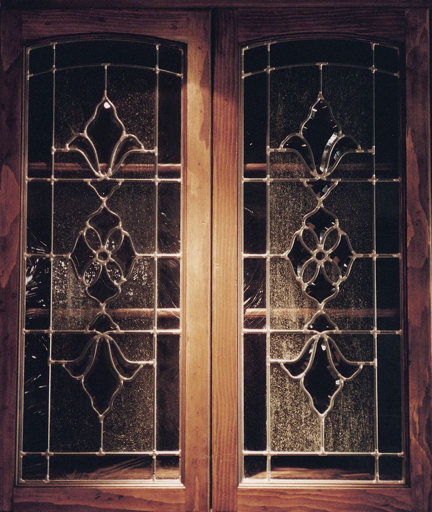 Le Meilleur Beveled Glass Leaded Glass Cabinet Glass Inserts Ce Mois Ci