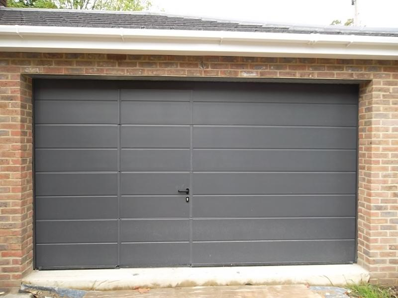 Le Meilleur Hormann Sectional Garage Door Fitted In Camberley Surrey Ce Mois Ci