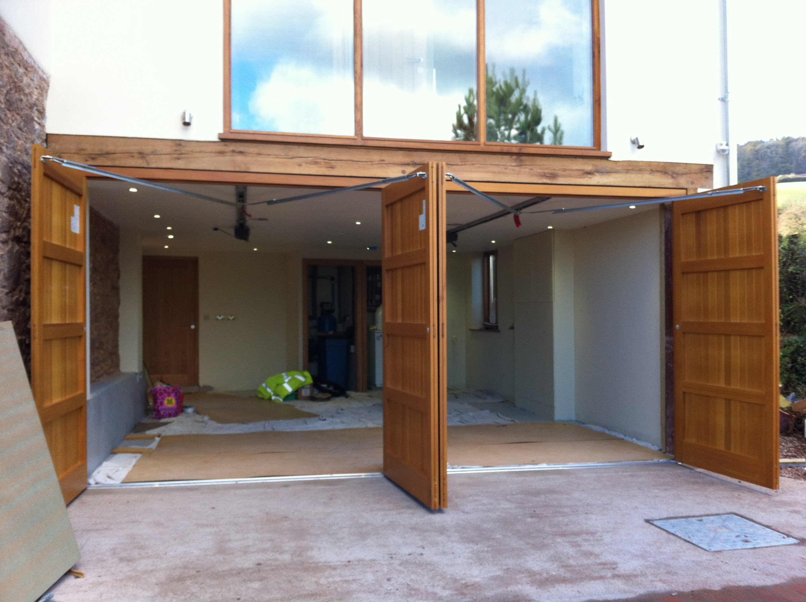 Le Meilleur Side Hinged Garage Door Installation Information And Ce Mois Ci