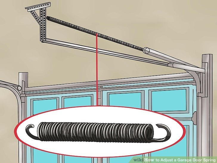 Le Meilleur How To Adjust A Garage Door Spring With Pictures Wikihow Ce Mois Ci