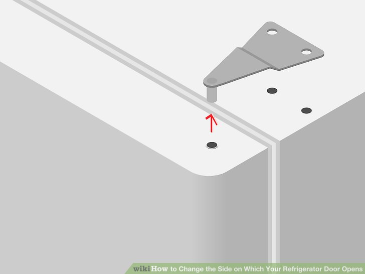 Le Meilleur How To Change The Side On Which Your Refrigerator Door Opens Ce Mois Ci