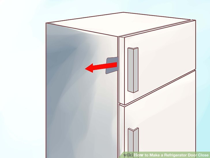 Le Meilleur How To Make A Refrigerator Door Close 11 Steps With Ce Mois Ci