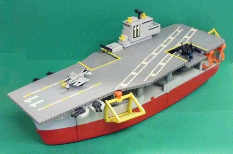 Le Meilleur Micro Machines Galoob 1988 Aircraft Carrier Action Playset Ce Mois Ci
