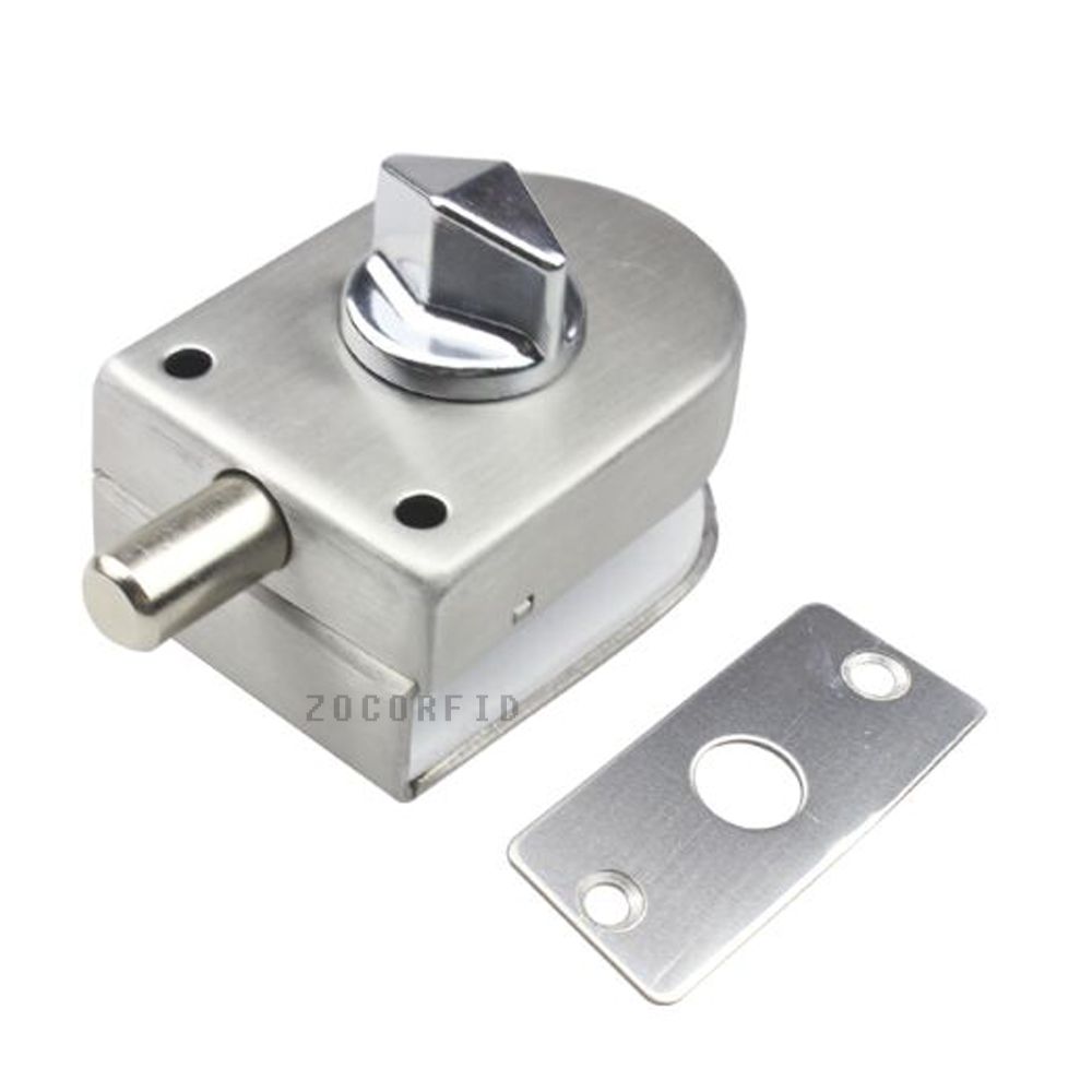 Le Meilleur Stainless Steel Glass Door Latches Lock Bolt 138A Without Ce Mois Ci