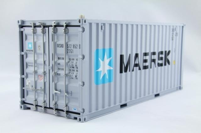 Le Meilleur O A S Of The Simulation Model Maersk 20 Gp Container 1 20 Ce Mois Ci