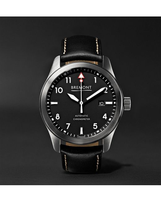 Le Meilleur Bremont Solo Wh Automatic 43Mm Stainless Steel And Leather Ce Mois Ci