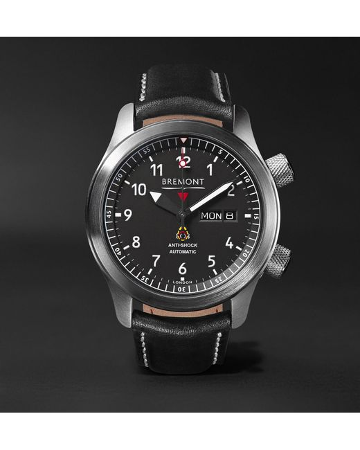Le Meilleur Bremont Mbii Or Automatic 45Mm Stainless Steel And Leather Ce Mois Ci