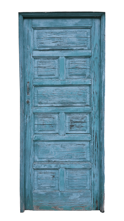 Le Meilleur Door Old Blue · Free Photo On Pixabay Ce Mois Ci
