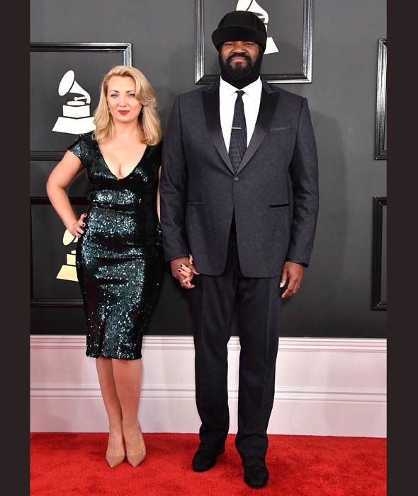Le Meilleur Gregory And Victoria Porter At The Grammy Awards Jazz Ce Mois Ci